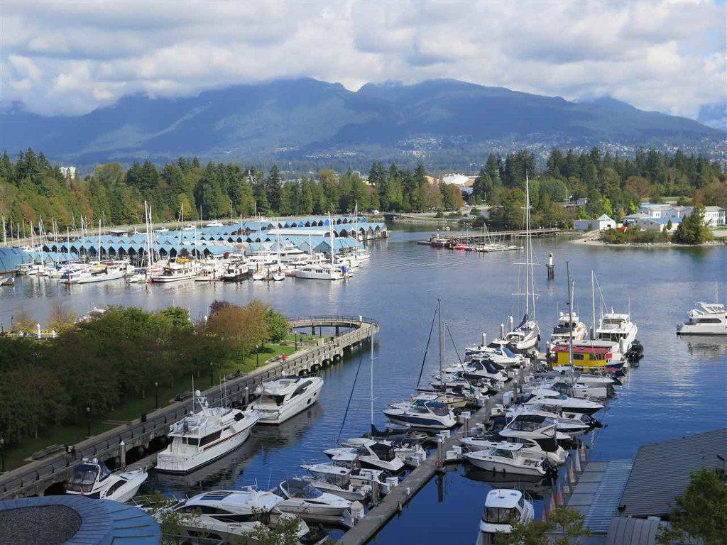 Main Photo: 1101 535 Nicola in Vancouver: Coal Harbour Condo for sale (Vancouver West)  : MLS®# R2002786