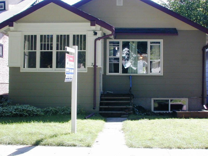 Main Photo: 211 Sherburn Street  / Wolseley in Winnipeg: West End / Wolseley House/Single Family for sale (Wolseley)  : MLS®# 2618853