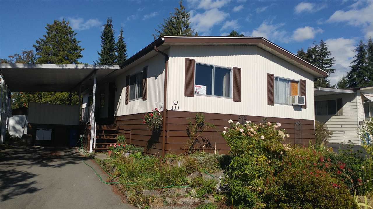 Main Photo: 111 3665 244TH STREET in Langley: Otter District Manufactured Home for sale : MLS®# R2105828