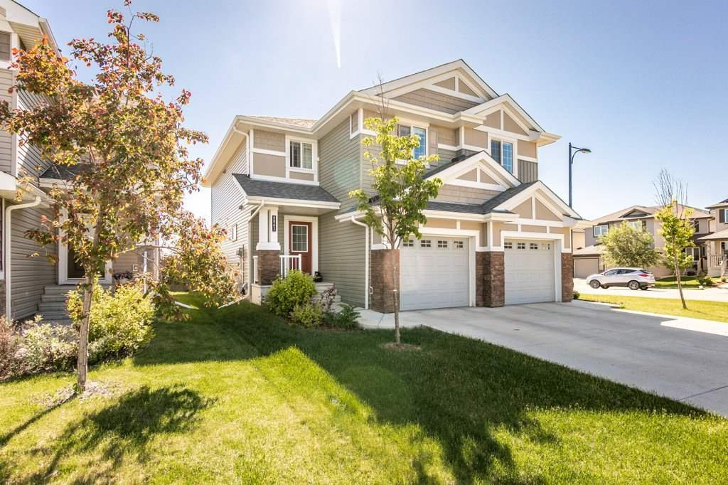 Main Photo: 6863 Cardinal Link SW in Edmonton: Zone 55 House Half Duplex for sale : MLS®# E4202225
