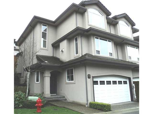 Main Photo: 70 678 CITADEL Drive in Port Coquitlam: Citadel PQ Townhouse for sale : MLS®# V932756