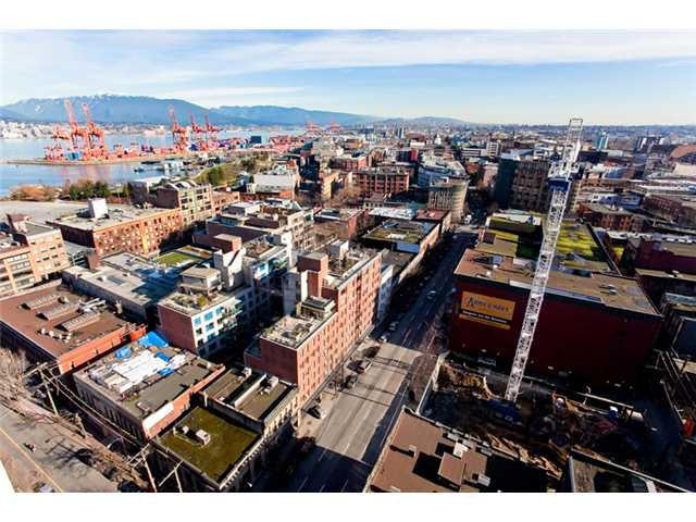 Main Photo: # 1802 108 W CORDOVA ST in Vancouver: Downtown VW Condo for sale (Vancouver West)  : MLS®# V867532