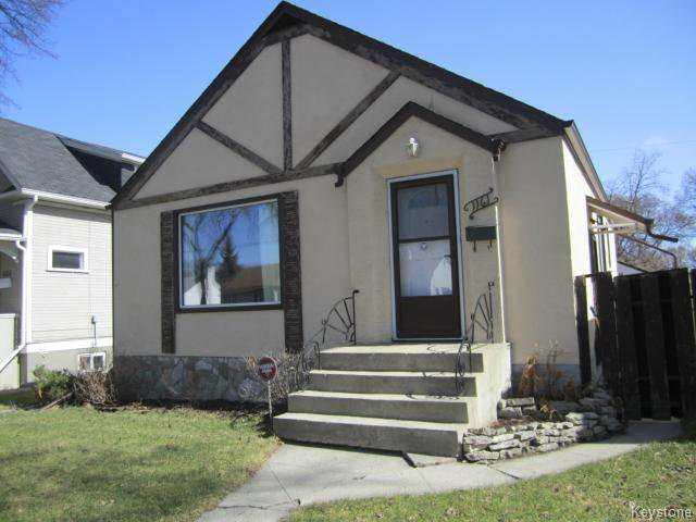 Main Photo: 1161 Strathcona Street in Winnipeg: West End / Wolseley Residential for sale ()  : MLS®# 1205058