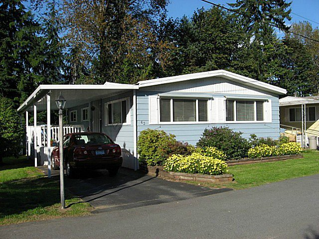 """Main Photo: 63 4200 DEWDNEY TRUNK Road in Coquitlam: Ranch Park Manufactured Home for sale in """"HIDEWAY PARK"""" : MLS®# V1076681"""