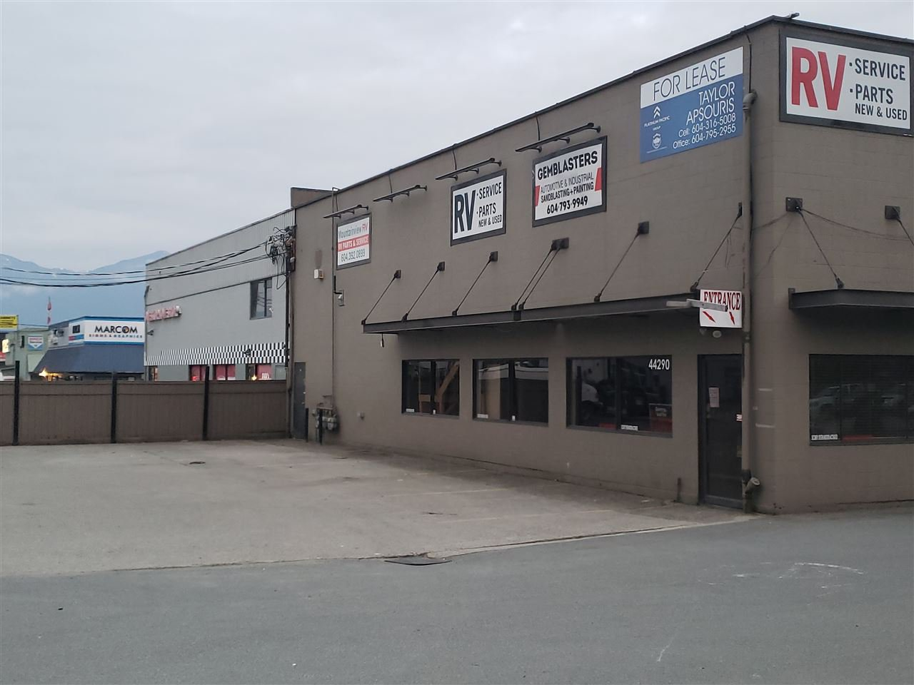 Main Photo: 1 44290 Yale Road in Chilliwack: Chilliwack Yale Rd West Industrial for sale or lease : MLS®# C8018680