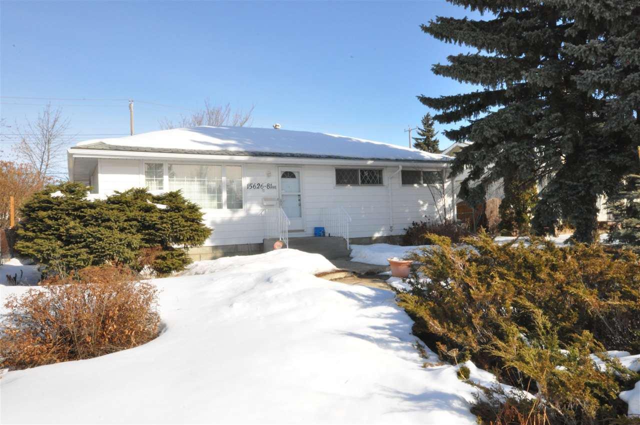Main Photo: 15626 81 Avenue in Edmonton: Zone 22 House for sale : MLS®# E4189052