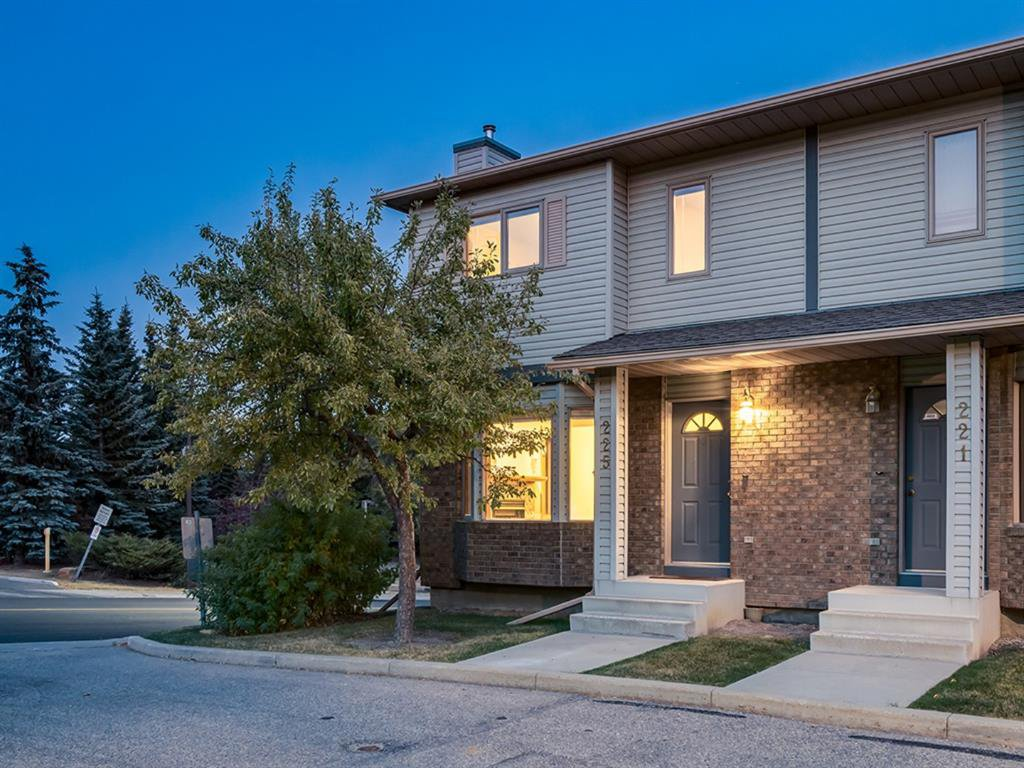 Main Photo: 225 Patina Park SW in Calgary: Patterson Row/Townhouse for sale : MLS®# A1040004