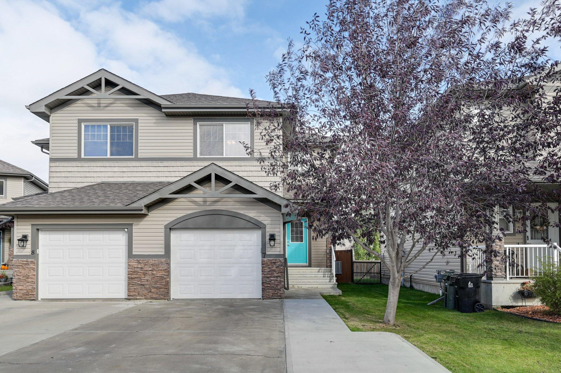 Main Photo: 7 Hartwick Loop: Spruce Grove House Duplex for sale : MLS®# e4216018
