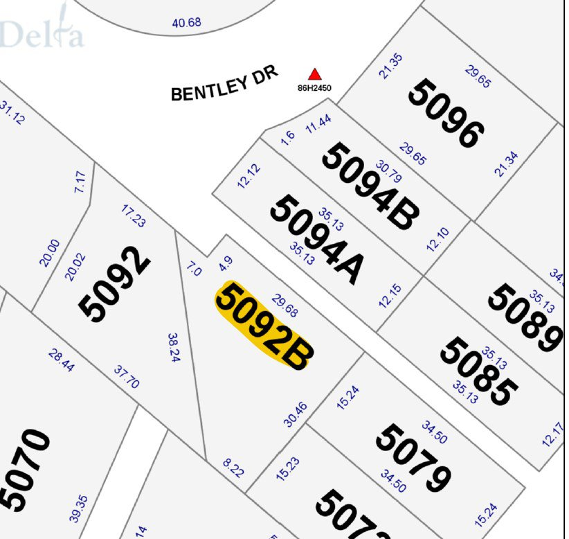 """Main Photo: 5092 B BENTLEY Drive in Delta: Hawthorne Land for sale in """"VICTORY SOUTH"""" (Ladner)  : MLS®# R2521635"""