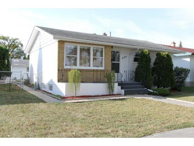 Main Photo: 524 Rosseau Avenue West in WINNIPEG: Transcona Residential for sale (North East Winnipeg)  : MLS®# 1218957
