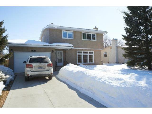 Main Photo: 97 Addison Crescent in WINNIPEG: Westwood / Crestview Residential for sale (West Winnipeg)  : MLS®# 1304972
