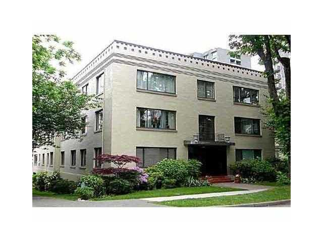 "Main Photo: # 4 985 JERVIS ST in Vancouver: West End VW Condo for sale in ""Sherwood Lodge"" (Vancouver West)  : MLS®# V996836"