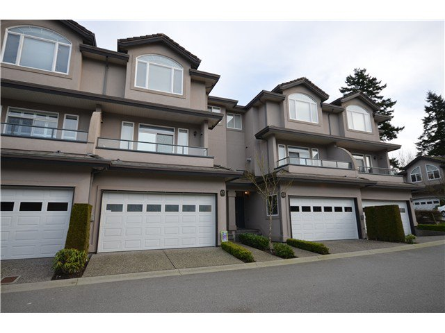 "Main Photo: 65 678 CITADEL Drive in Port Coquitlam: Citadel PQ Townhouse for sale in ""CITADEL POINTE"" : MLS®# V1012676"