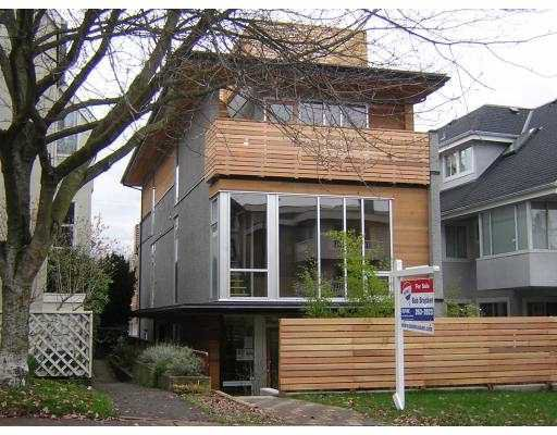 Main Photo: 2115 W 1ST AV in : Kitsilano 1/2 Duplex for sale : MLS®# V689502
