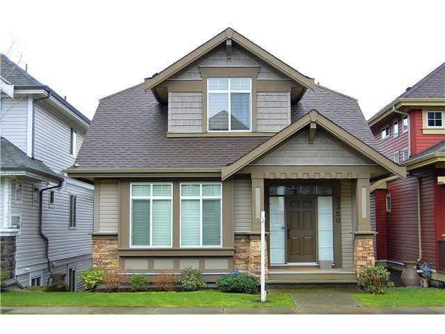 "Main Photo: 3350 WATKINS AV in Coquitlam: Burke Mountain House for sale in ""Belmont"" : MLS®# V1015267"