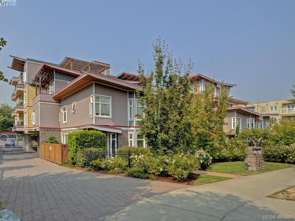 Main Photo: 205 1510 Hillside Avenue in VICTORIA: Vi Oaklands Condo Apartment for sale (Victoria)  : MLS®# 415890