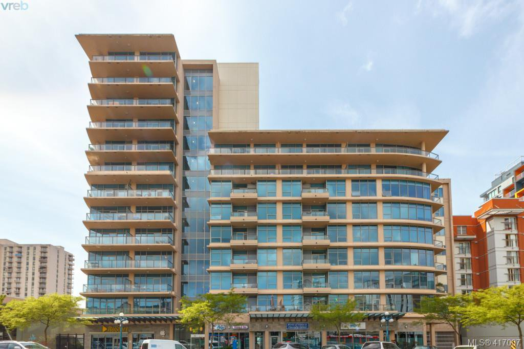 Main Photo: 702 845 Yates St in VICTORIA: Vi Downtown Condo for sale (Victoria)  : MLS®# 827309