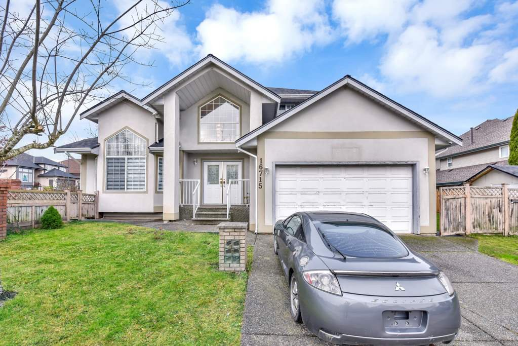 Main Photo: 16715 84TH Avenue in Surrey: Fleetwood Tynehead House for sale : MLS®# R2524803