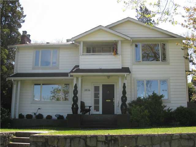 Main Photo: 3856 W 8TH Avenue in Vancouver: Point Grey House for sale (Vancouver West)  : MLS®# V958230