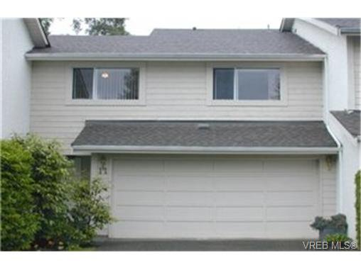 Main Photo: 11 1287 Verdier Ave in BRENTWOOD BAY: CS Brentwood Bay Row/Townhouse for sale (Central Saanich)  : MLS®# 339376