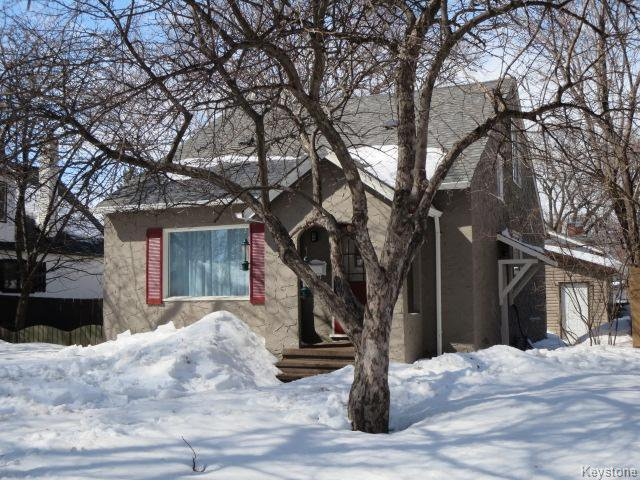 Main Photo: 234 Winchester Street in Winnipeg: Single Family Detached for sale (Deer Lodge)  : MLS®# 1406251