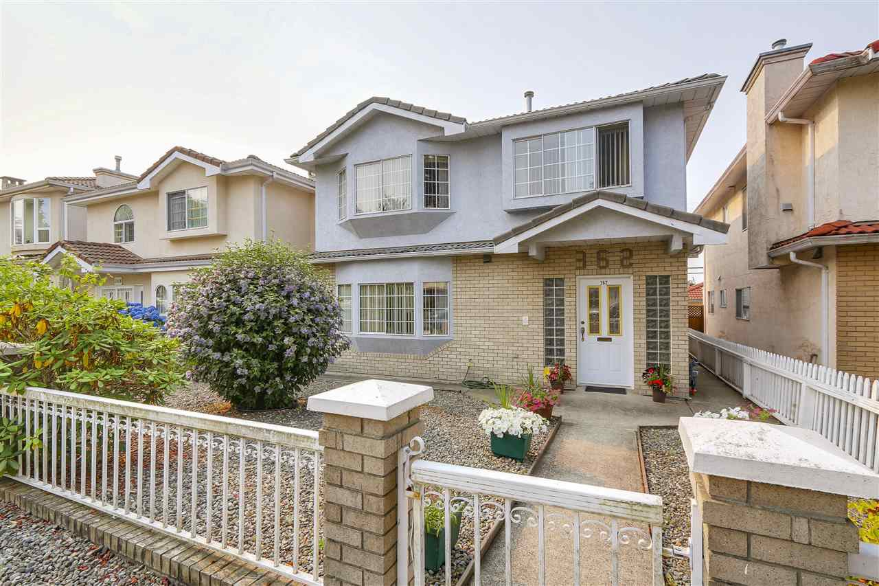 Main Photo: 362 E 56TH AVENUE in Vancouver: South Vancouver House for sale (Vancouver East)  : MLS®# R2220573