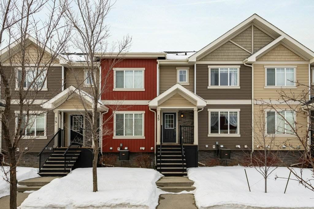 Main Photo: 15 675 ALBANY Way in Edmonton: Zone 27 Townhouse for sale : MLS®# E4188947