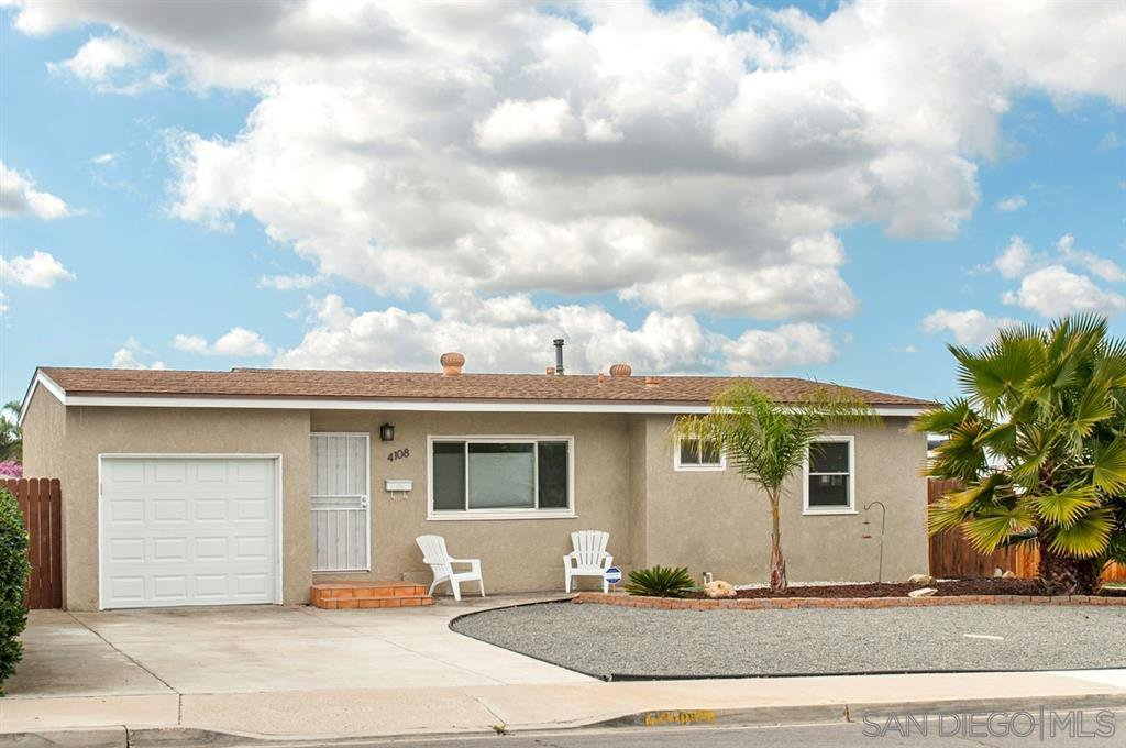 Main Photo: SAN DIEGO House for rent : 3 bedrooms : 4108 Casita Way