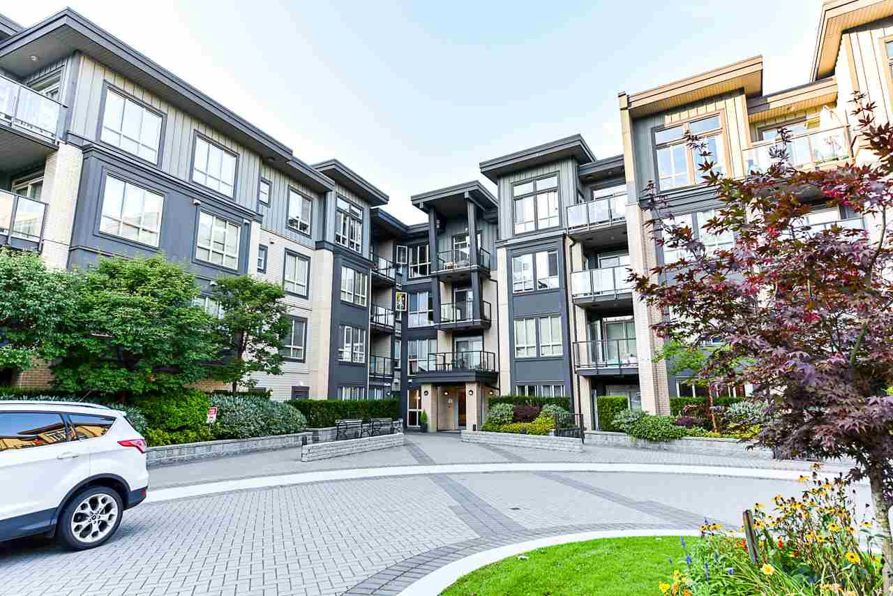 "Main Photo: 111 225 FRANCIS Way in New Westminster: Fraserview NW Condo for sale in ""WHITTAKER"" : MLS®# R2497580"