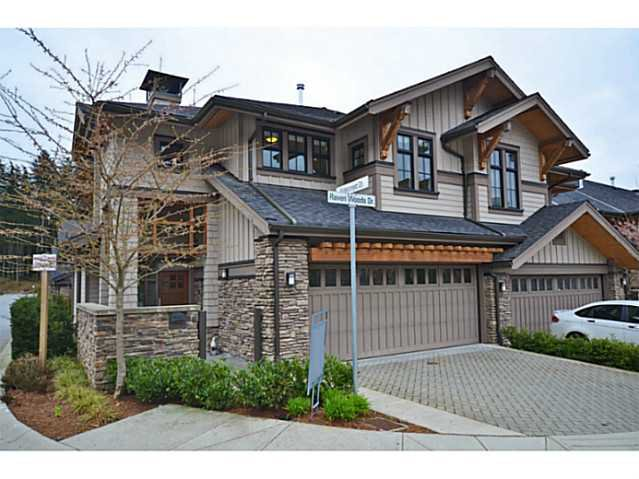 Main Photo: 1 555 Raven Woods Drive in North Vancouver: Roche Point Townhouse for sale : MLS®# V1042218