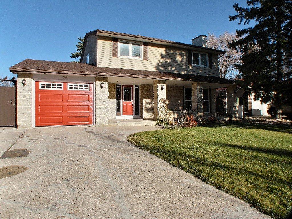 Main Photo: 75 Leeds Avenue in Winnipeg: Fort Richmond Residential for sale (South Winnipeg)  : MLS®# 1529735
