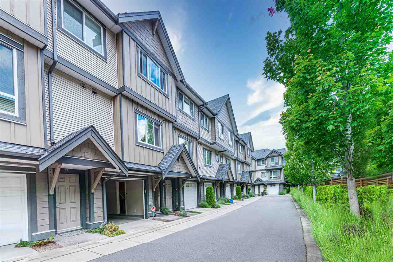 """Main Photo: 14 9391 ALBERTA Road in Richmond: McLennan North Townhouse for sale in """"WILD ROSE"""" : MLS®# R2510919"""