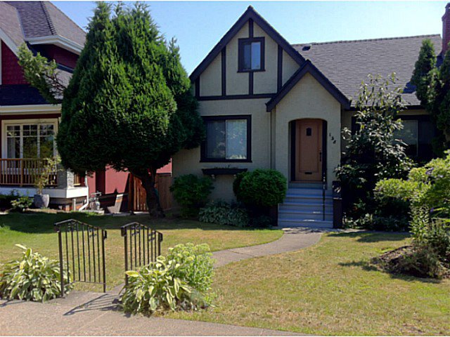 Main Photo: 138 W 39TH Avenue in Vancouver: Cambie House for sale (Vancouver West)  : MLS®# V1019759
