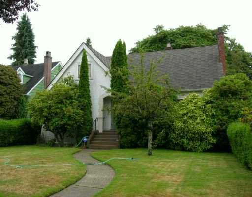 Main Photo: 1676 W 59TH AV in Vancouver: South Granville House for sale (Vancouver West)  : MLS®# V610949