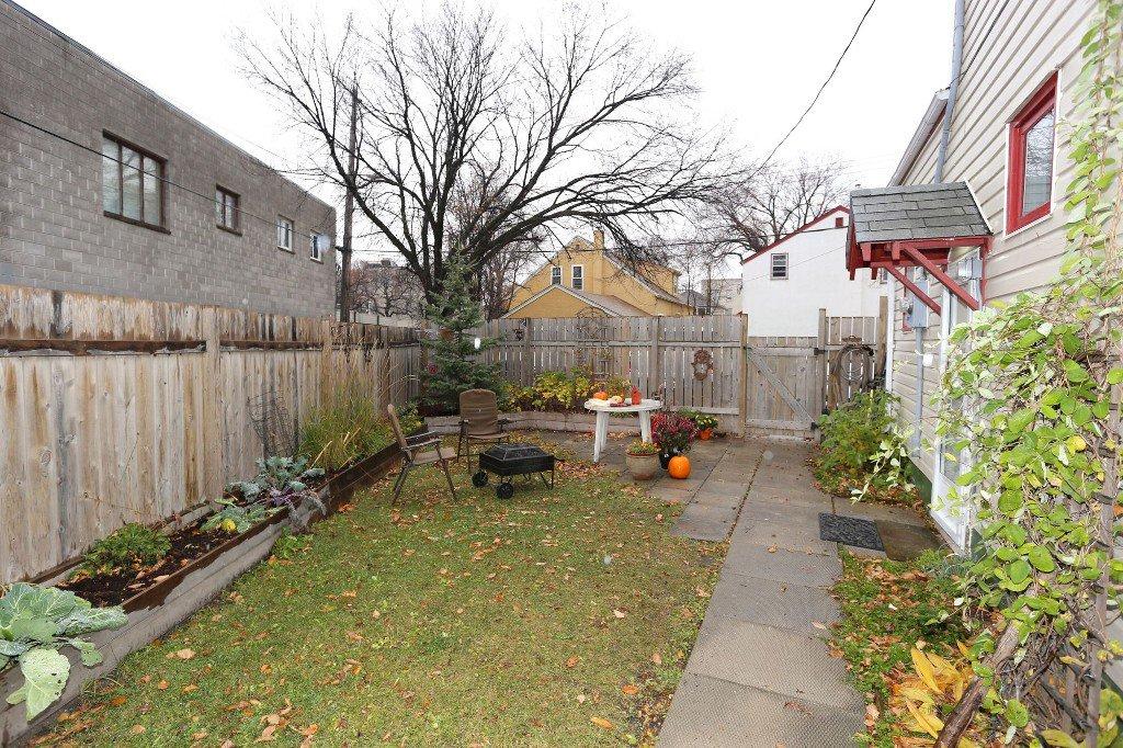 Photo 32: Photos: 283 Evanson Street in Winnipeg: Wolseley Single Family Detached for sale (West Winnipeg)  : MLS®# 1528645