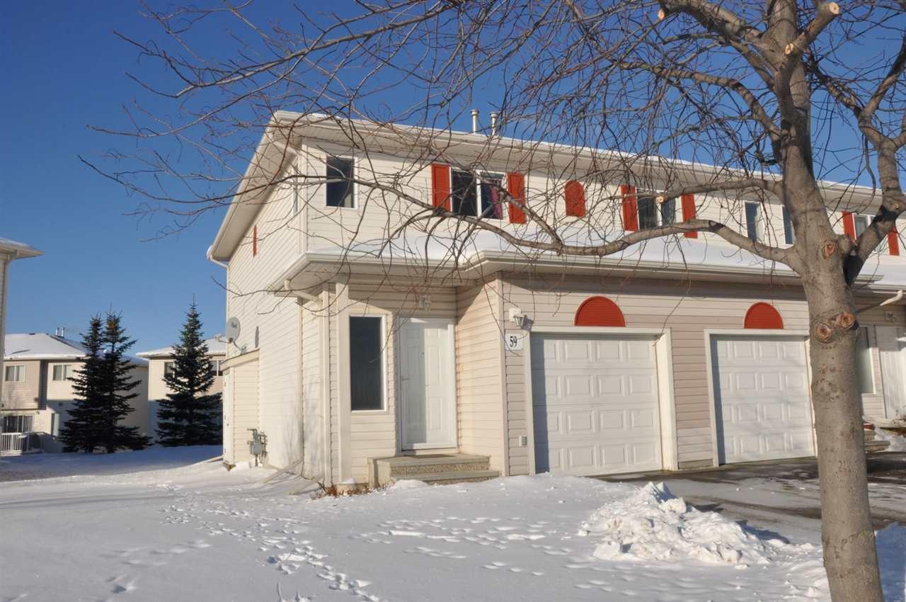 Main Photo: 59 451 HYNDMAN Crescent in Edmonton: Zone 35 Townhouse for sale : MLS®# E4184836