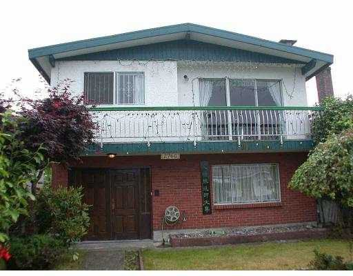 Main Photo: 2746 GRAVELEY ST in Vancouver: Renfrew VE House for sale (Vancouver East)  : MLS®# V577125