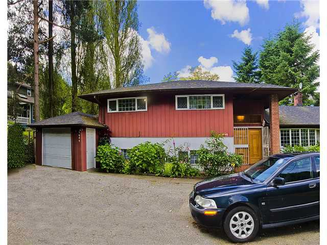 Main Photo: 5649 CANADA Way in Burnaby: Deer Lake House for sale (Burnaby South)  : MLS®# V958286