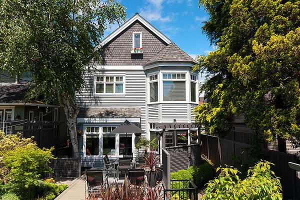 Main Photo: 3535 W 5TH Avenue in Vancouver: Kitsilano House 1/2 Duplex for sale (Vancouver West)  : MLS®# V968929