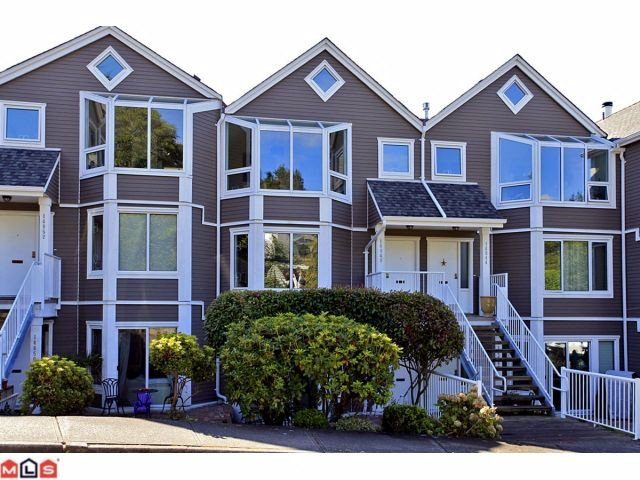 Main Photo: 14848 BEACHVIEW Avenue: White Rock Townhouse for sale (South Surrey White Rock)  : MLS®# F1223588