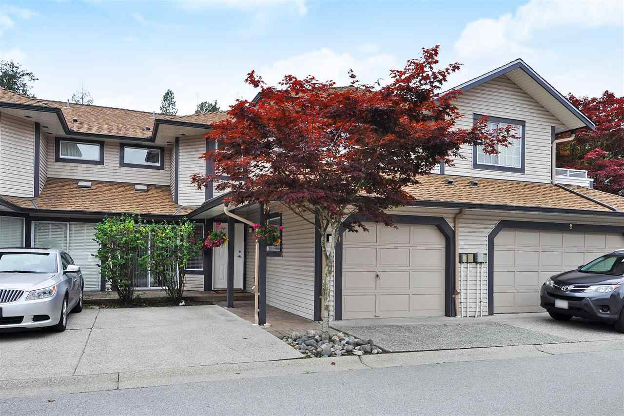 Main Photo: 9 2561 Runnel Drive in COQUITLAM: Eagle Ridge CQ Townhouse for sale (Coquitlam)  : MLS®# R2401616