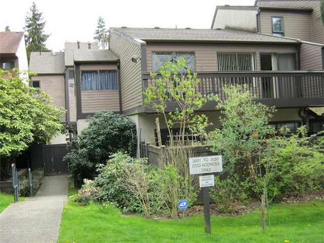 Main Photo: 3021 ARIES Place in Burnaby: Simon Fraser Hills Townhouse for sale (Burnaby North)  : MLS®# V945552