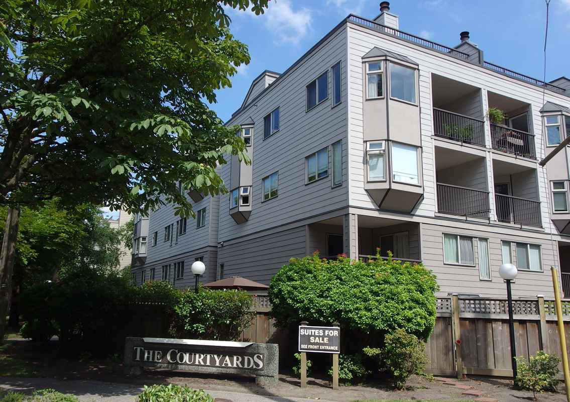 Main Photo: 107-737 Hamilton St in New Westminster: Uptown NW Condo for sale : MLS®# R2330337