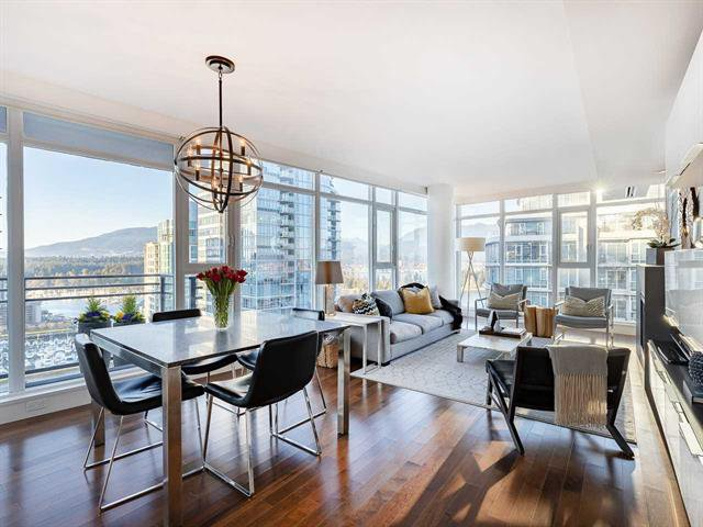 Main Photo: 2502 1205 W Hastings in Vancouver: Coal Harbour Condo for sale (Vancouver West)  : MLS®# R2336685