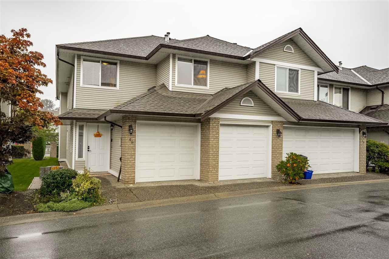 Main Photo: 49 1370 RIVERWOOD Gate in Port Coquitlam: Riverwood Townhouse for sale : MLS®# R2411352