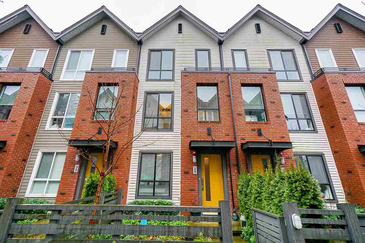 "Main Photo: 29 2380 RANGER Lane in Port Coquitlam: Riverwood Townhouse for sale in ""FREMONT INDIGO"" : MLS®# R2435423"