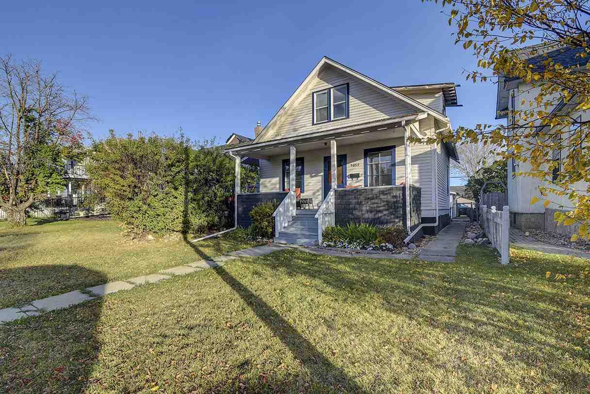 Main Photo: 9852 76 Avenue NW in Edmonton: Zone 17 House for sale : MLS®# E4217967