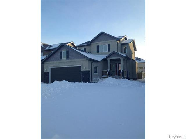Main Photo: 153 Moonbeam Way in Winnipeg: Single Family Detached for sale (Sage Creek)  : MLS®# 1400108