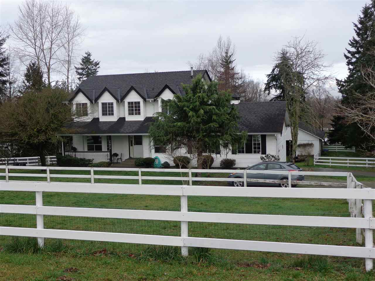 Main Photo: 20475 1ST AVENUE in Langley: Campbell Valley House for sale : MLS®# R2036160
