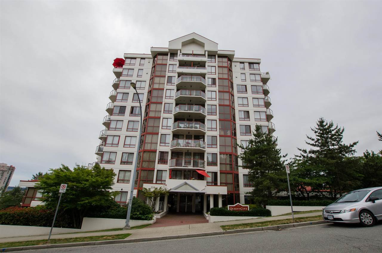 Main Photo: 501 220 ELEVENTH STREET in New Westminster: Uptown NW Condo for sale : MLS®# R2287761